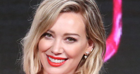 Hilary Duff Debuts A New Pastel Hairstyle