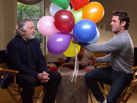VIDEO: Robert De Niro Tries (and Fails) to Wish a Heartfelt Happy Birthday to Zac Efron's Girlfriend in Cheeky Clip