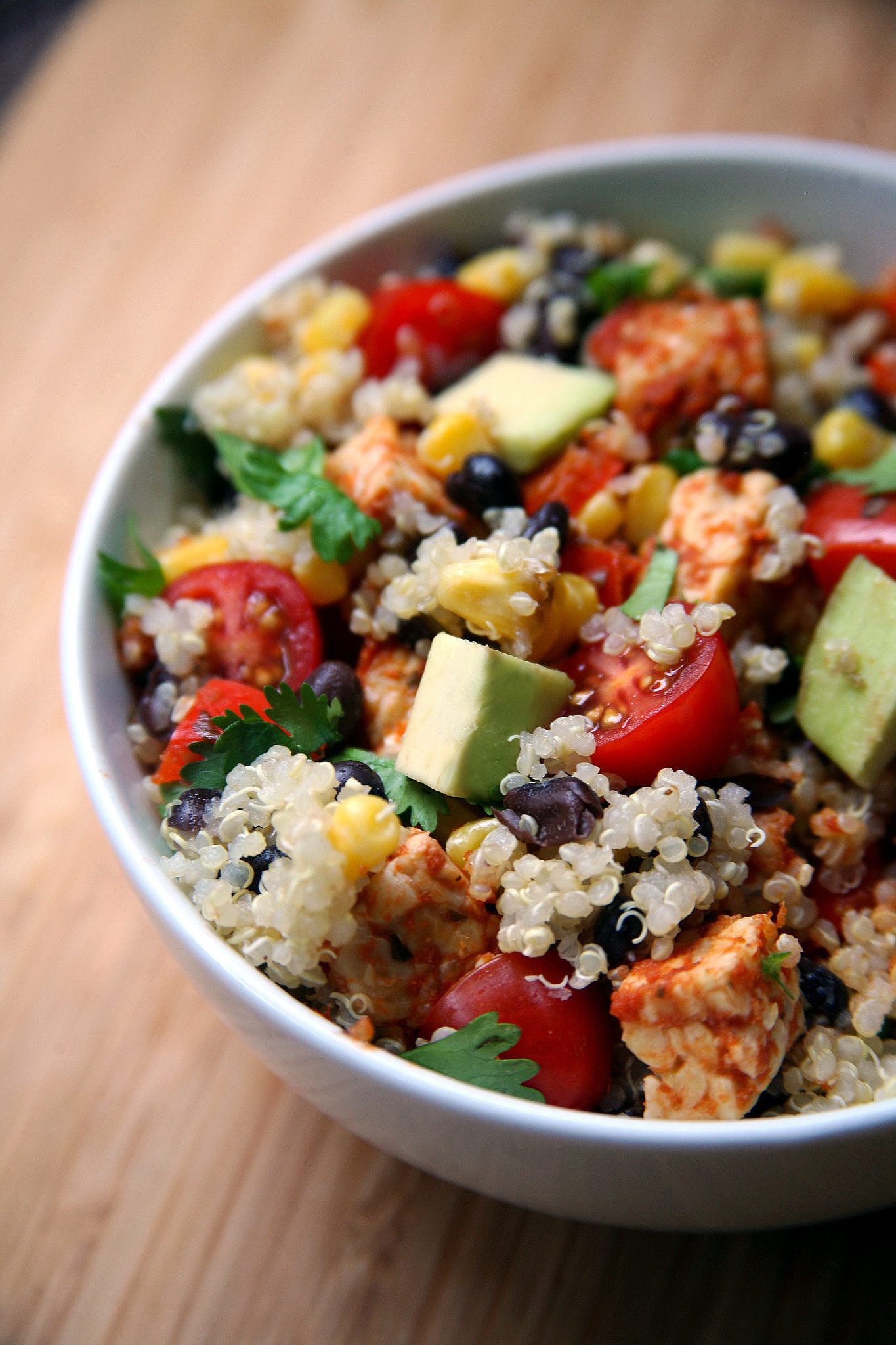 Mexican Tempeh Quinoa Salad | Lose Weight With These 50 ...