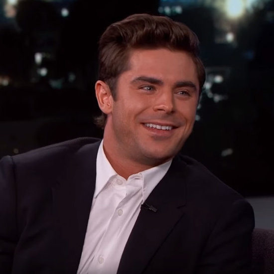 Zac Efron on Jimmy Kimmel Live January 2016