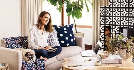 Jessica Alba's Home Is Honestly Perfect