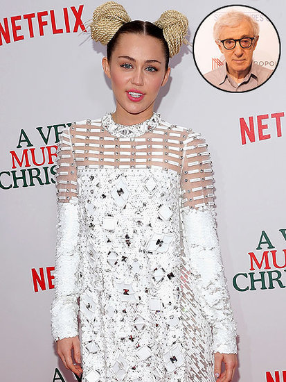 Miley Cyrus Confirms She Will Star in Woody Allen's New Amazon Series