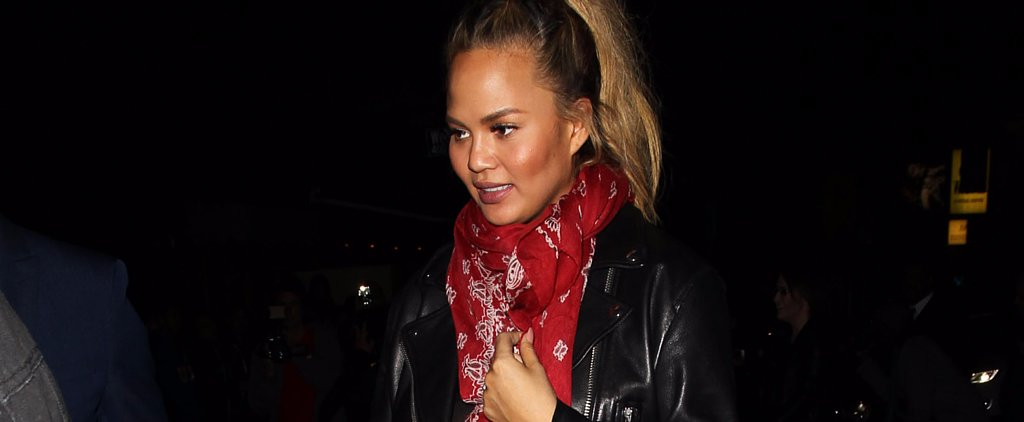 The Sexy Maternity Look Chrissy Teigen Pulled Off Perfectly