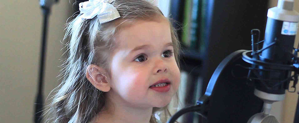 """This 3-Year-Old Sings """"Part of Your World"""" Better Than the Little Mermaid Herself"""