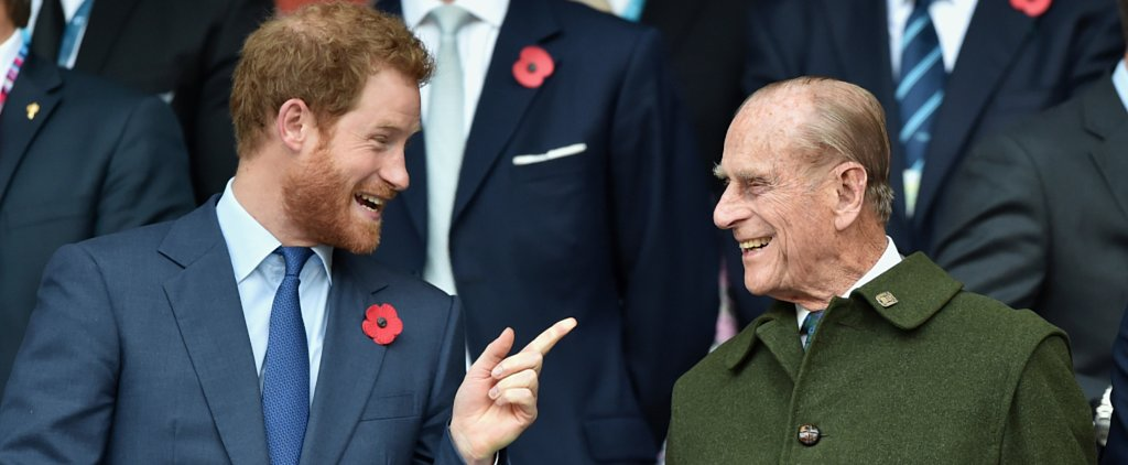Adorable Moments Prince Harry Has Shared With His Grandpa Prince Philip Over the Years