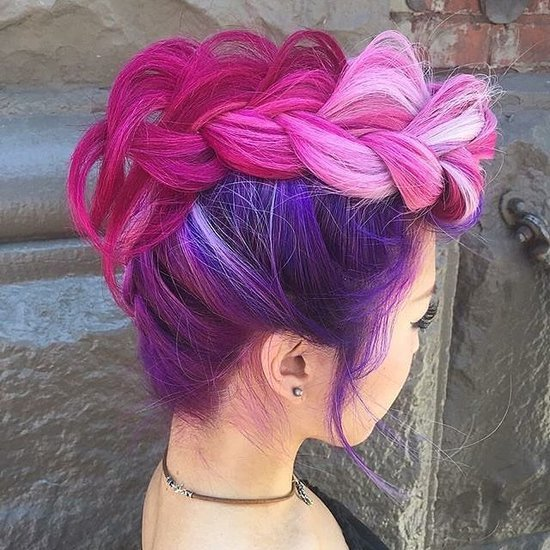 Rainbow Hair Ideas For Valentine's Day