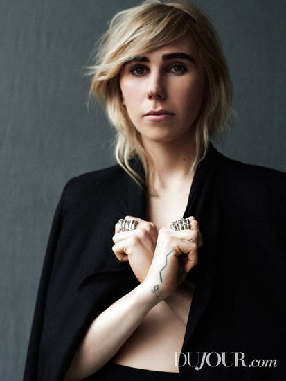 The Bizarre Reason Zosia Mamet Says She 'Almost Got Killed' at Fashion Week