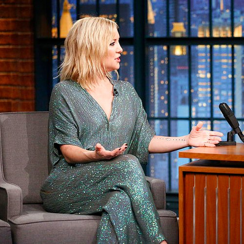Kate Hudson Wearing Sparkly Jumpsuit