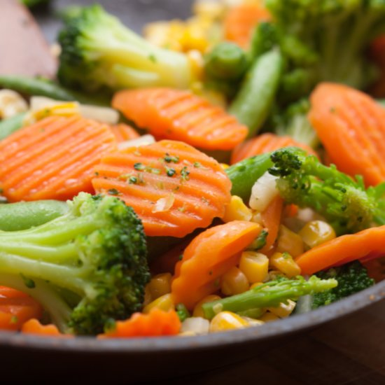 Why You Should Be Frying Your Vegetables