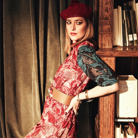 Dakota Johnson in Net-a-Porter The Edit January 2016