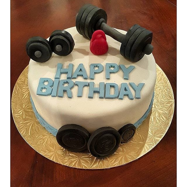 Cake Designs Gym : Fitness, Health & Well-Being Fitness-Inspired Cakes ...