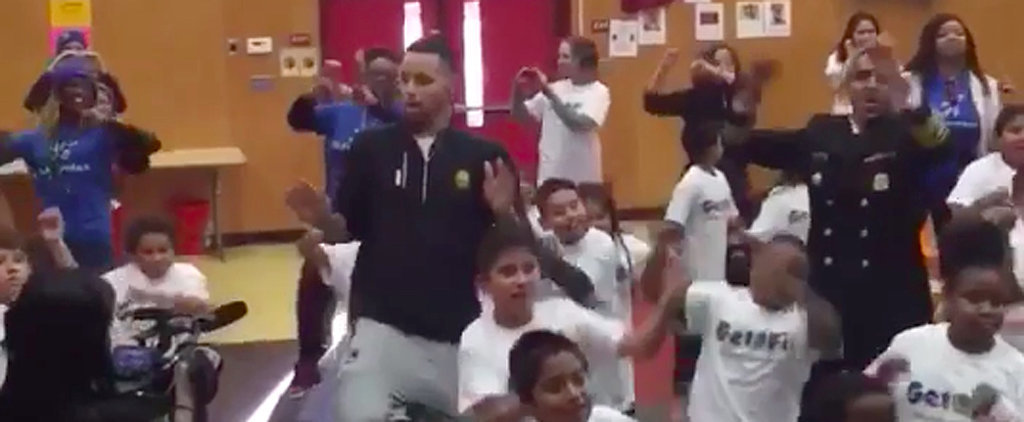 Yes, Stephen Curry Dancing With a Group of Little Kids Is as Cute as It Sounds