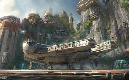 FROM EW: Harrison Ford to Unveil Disney's Star Wars Theme Park Plans in TV Special