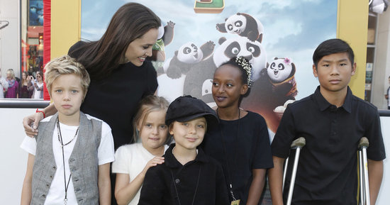 Angelina Jolie Is Not Down With Her Six Kids Becoming Celebrities
