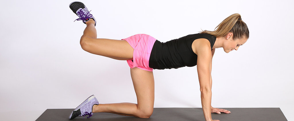 This Quick Donkey-Kick Series Will Seriously Sculpt Your A$$