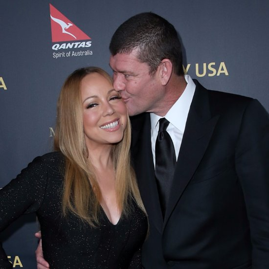 Mariah Carey and James Packer's First Appearance as Engaged