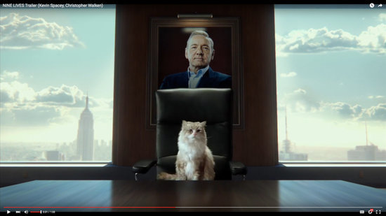 Finally! A Film That Combines the Cinematic Prowess of Kevin Spacey and Cats