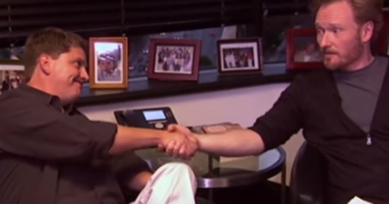 Conan Meets His Censor, And It's Bleepin' Hilarious