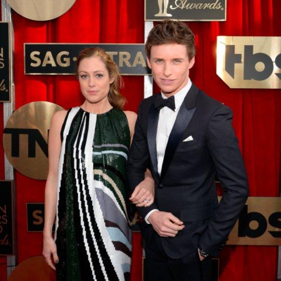 Eddie Redmayne and Hannah Bagshawe at the SAG Awards 2016