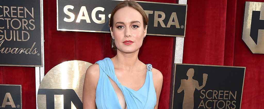 "Brie Larson Knew Her Sexy SAG Awards Dress Was ""the One"" — and We Couldn't Agree More"