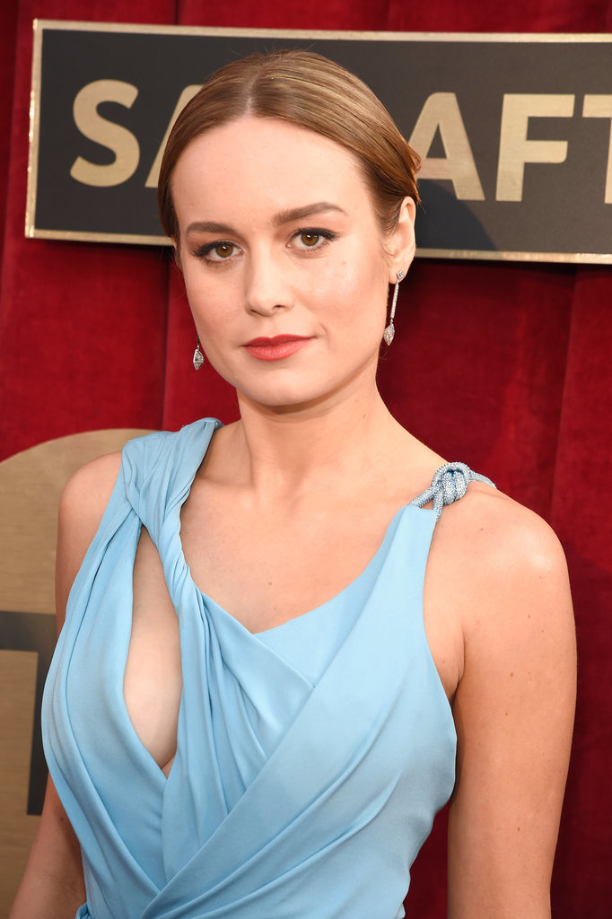 Brie Larsons Hair At The SAG Awards 2016 POPSUGAR