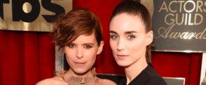Sister, Sister! Kate and Rooney Mara Showed Up Together For the SAG Awards