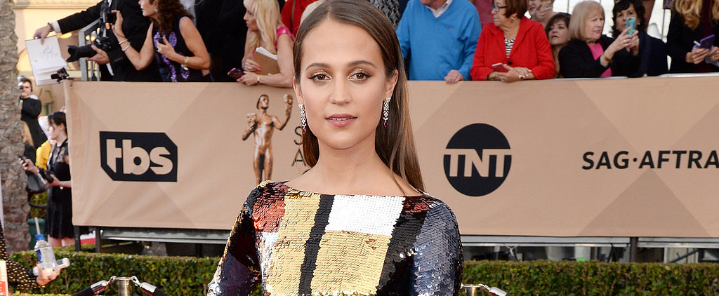 Alicia Vikander Is Going to Make You Want to Grab Your Flat Iron