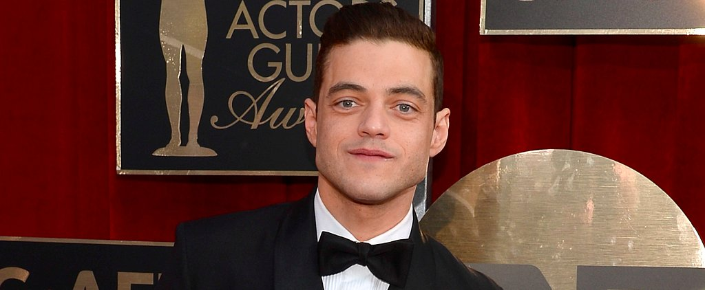 Rami Malek Was More Adorable Than Ever at the SAG Awards