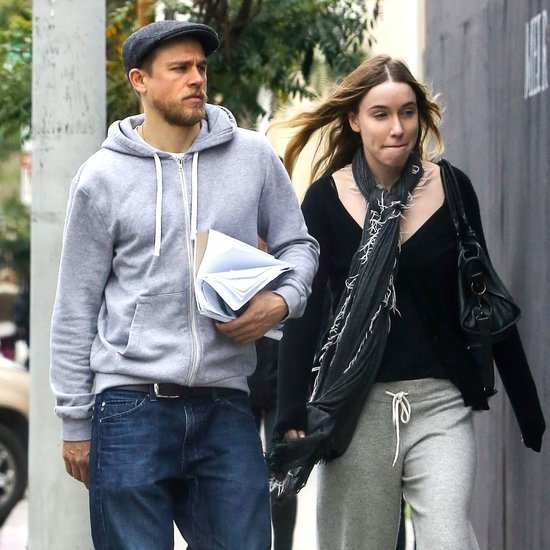 Charlie Hunnam and Morgana McNelis Shopping in LA Pictures