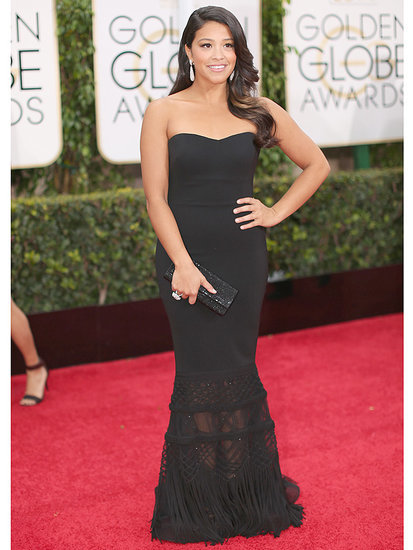 Best Prom Ever? Gina Rodriguez Sends Her Golden Globes Gown to a Fan