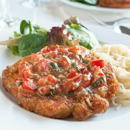Bruschetta Pork Chops Recipe