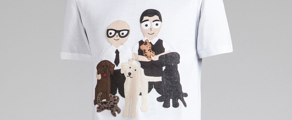 The Heartwarming Reason Why Dolce & Gabbana's Putting Cartoons on Bags and T-Shirts