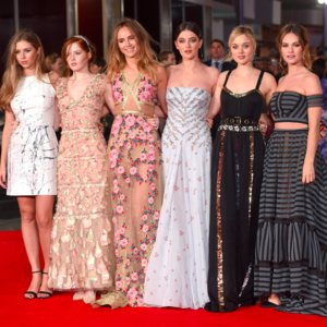 Pride and Prejudice and Zombies London Premiere Photos