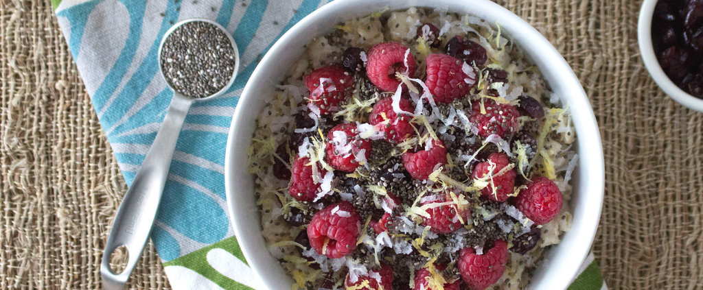 Tiffani Thiessen's Raspberry Lemonade Oatmeal Will Make You a Morning Person