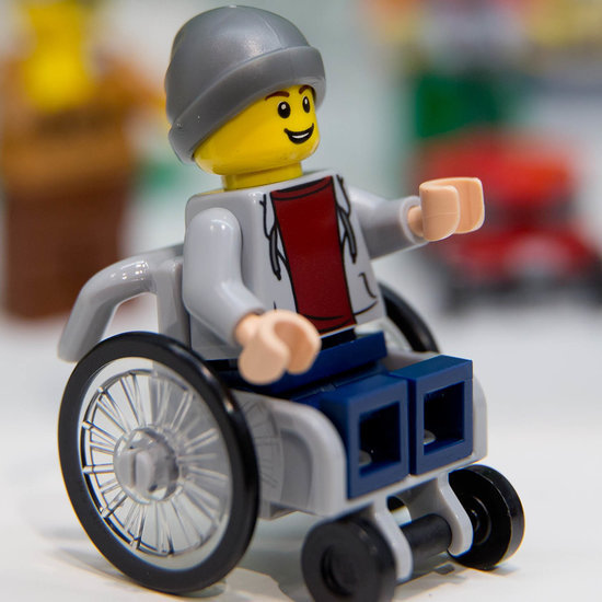 Lego Minifigure in Wheelchair