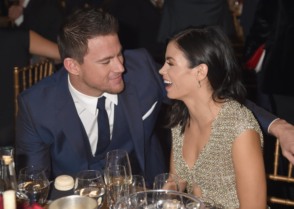 They shared a laugh during the Hollywood Film Awards in November 2014.