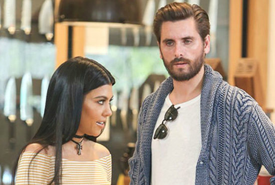 Kourtney Kardashian & Scott Disick are Starting to Look Like a Couple Again