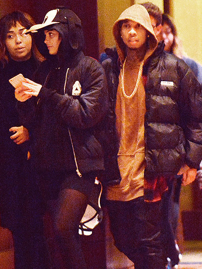 Tyga Joins Kylie Jenner and Her Friends at Disneyland Amid Family Drama