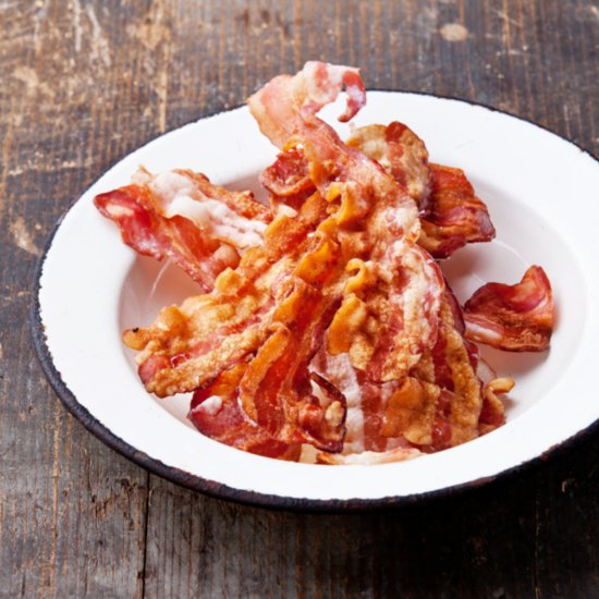 We'd Like This Heart-Shaped Bacon to Be Our Valentine