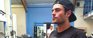 Warning: Zac Efron's Biceps Are So Big, They May Actually Knock You Out