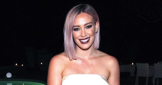 Hilary Duff Looks Radiant in White Dress After Finalizing Divorce