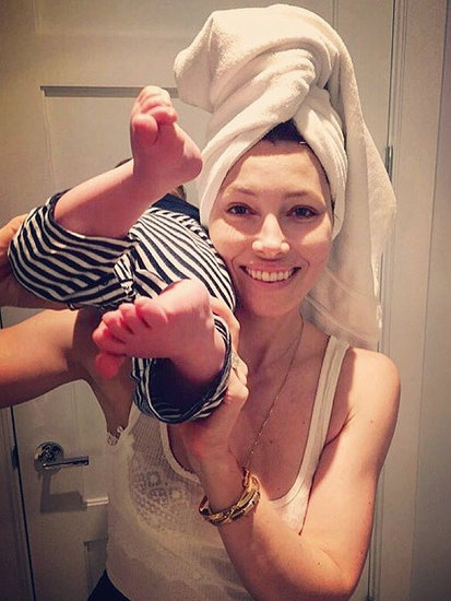 Jessica Biel Wakes Up 'Disheveled, Running Late,' But Cherishes Breakfasts with Son Silas