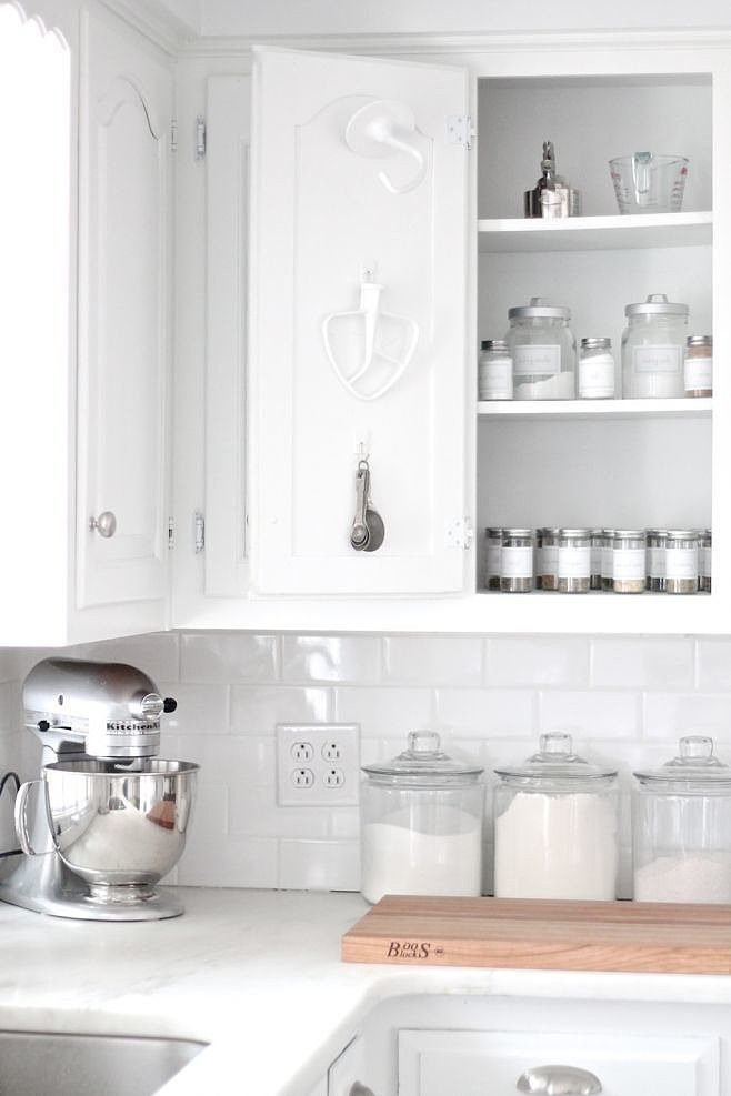 Free Up Drawer Space By Hanging Some Of Your Most Used Baking Tools