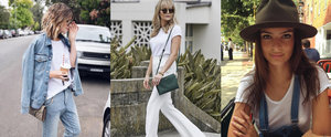 15 Ways to Wear Your Basic White Tee