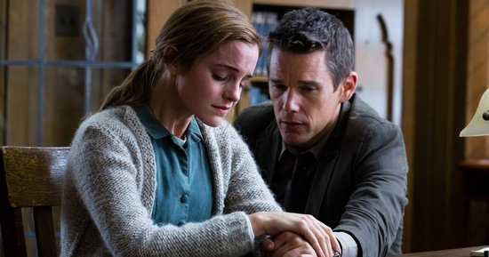 Emma Watson Can't Get The Devil Off Her Back In This 'Regression' Clip