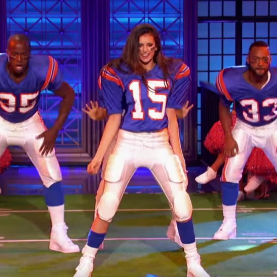 Nina Dobrev and Tim Tebow Lip Sync Battle