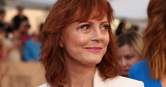Susan Sarandon Doesn't Need Your Style Advice, Piers Morgan