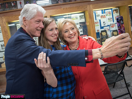 Hillary Clinton: 'Selfie-ing' Might Have to Stop If She's Elected President