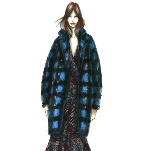 Designer Sketches From New York Fashion Week Fall 2016
