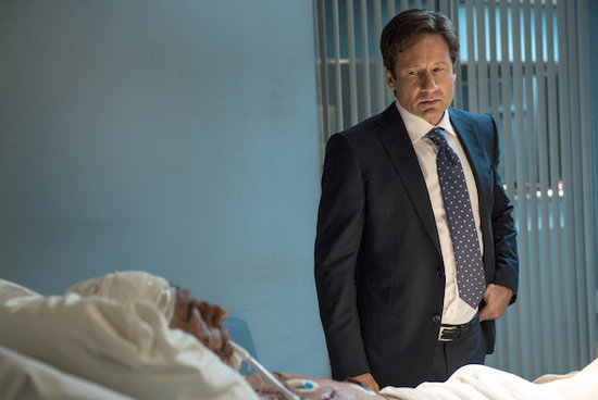 'The X-Files' Episode 10.5 Photos: Can Mulder and Scully Communicate with a Comatose Bomber?